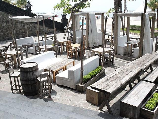 the den of kalaha outdoor space wedding south jakarta