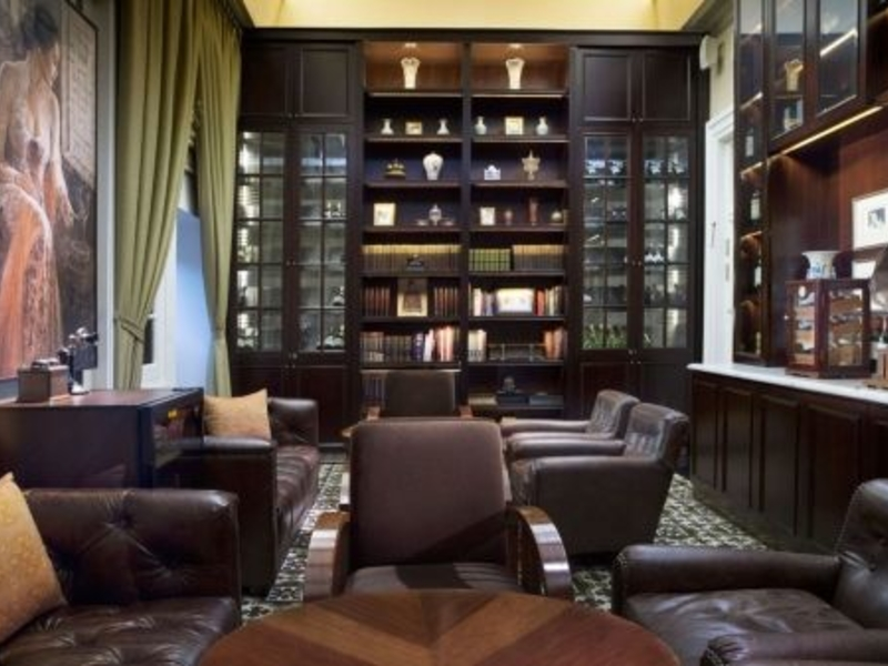 the hermitage cigar room super stylish venue for birthday jakarta