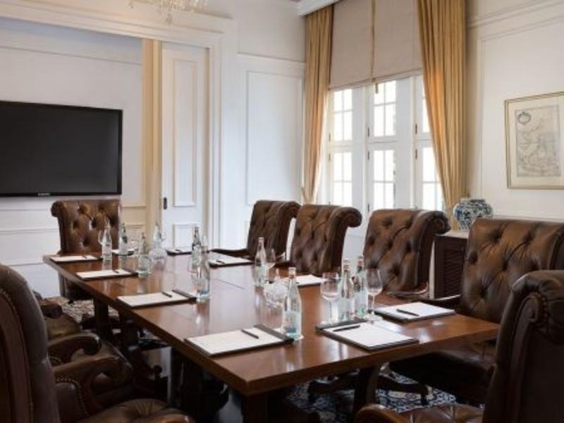 the hermitage cigar room elegant meeting room jakarta