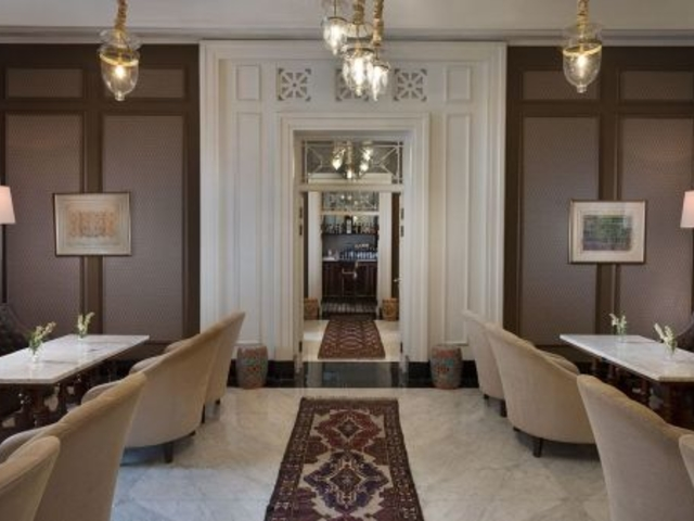 the hermitage lounge prefect place for product launch jakarta