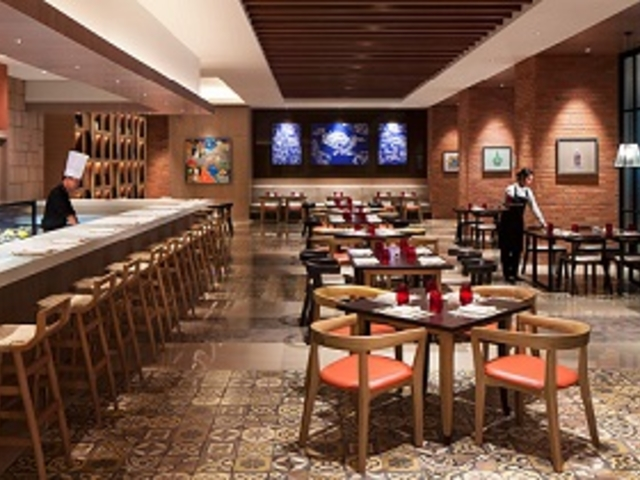 sapori deli lounge for tea time central jakarta