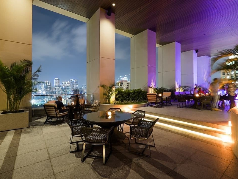 k22 rooftop bar for after party central jakarta