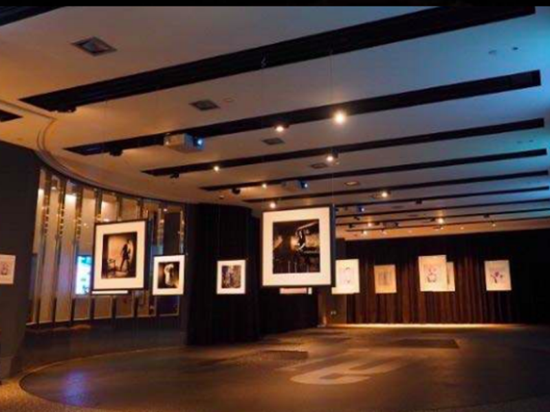 art exhibition at the main area of the function hall