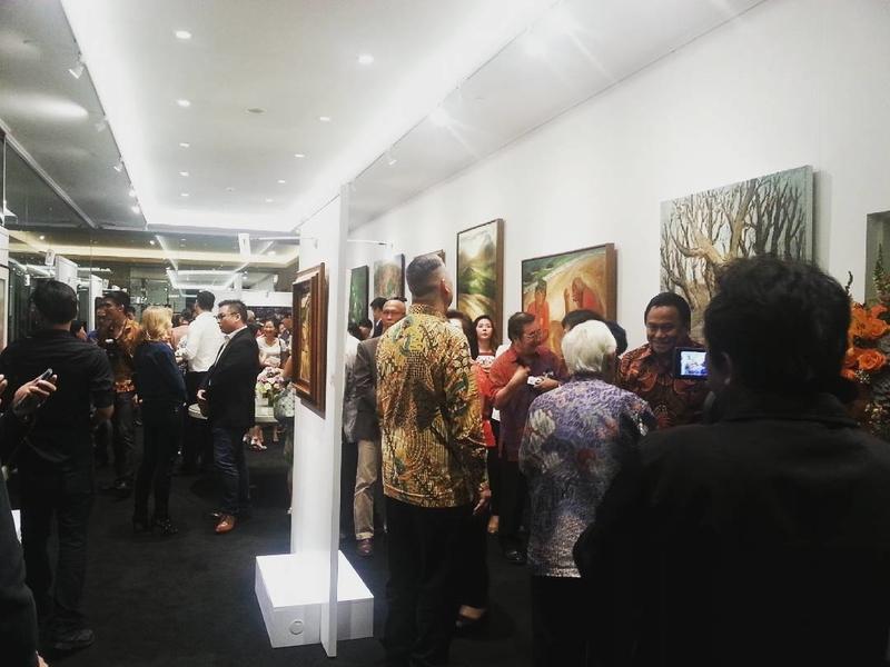 sunrise art gallery for rent central jakarta