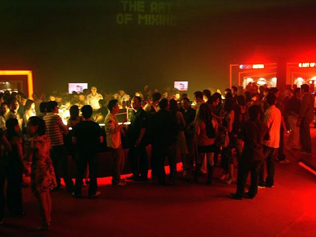 people doing networking during corporate cocktail party