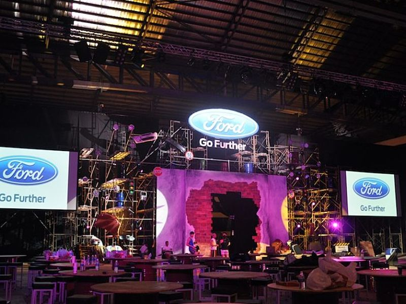 product launch event by ford with go futher theme