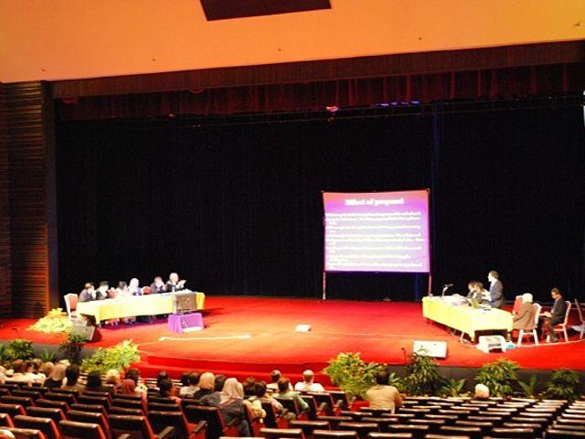 talkshow event inside the auditorium