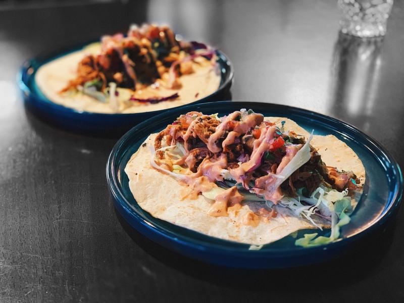 strokes tacos party bar snacks