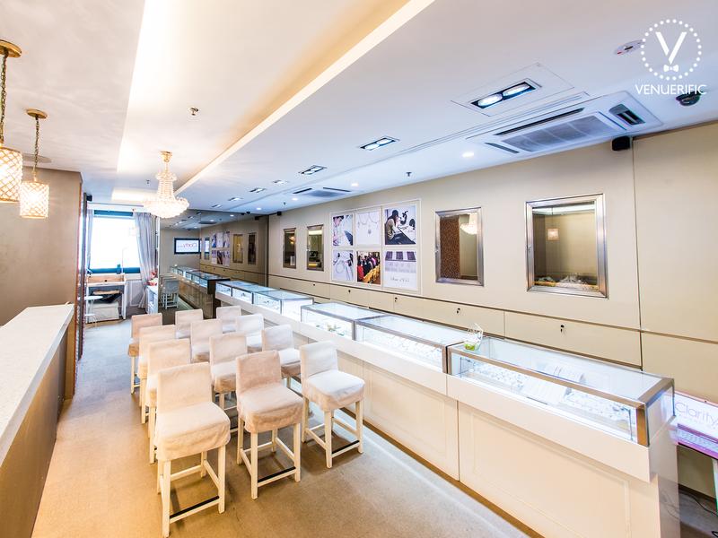 indoor gallery for corporate event