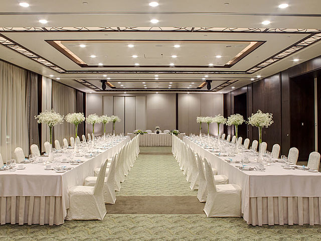 event space for private intimate wedding celebration
