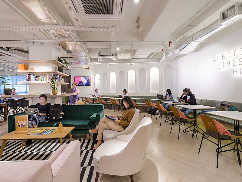 coworking event space inside wisma mont kiara