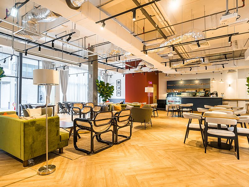 event space for product launch event