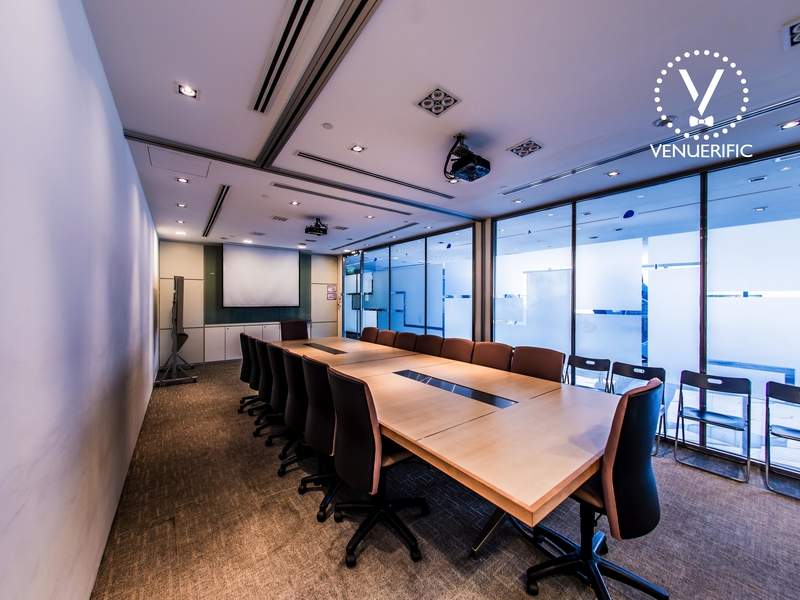 private meeting room at biopolis by jtc singapore