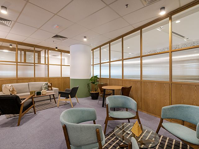 business lounge area for meeting and brainstorming