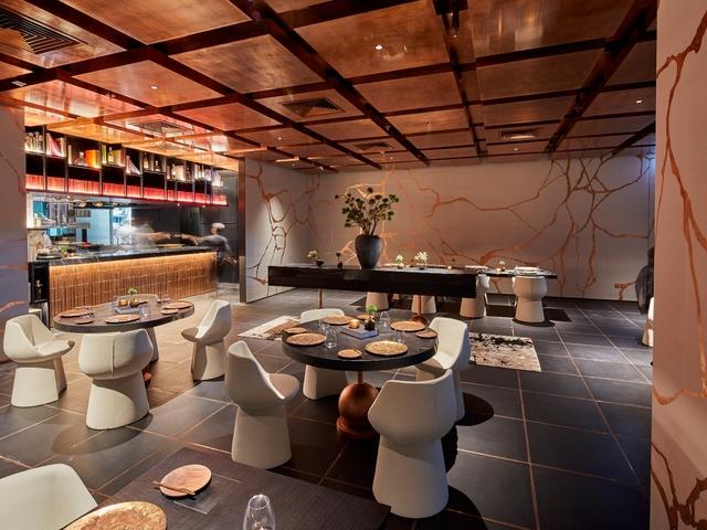minimalistic interior is like an artist's blank canva blending soft organic wallpaper