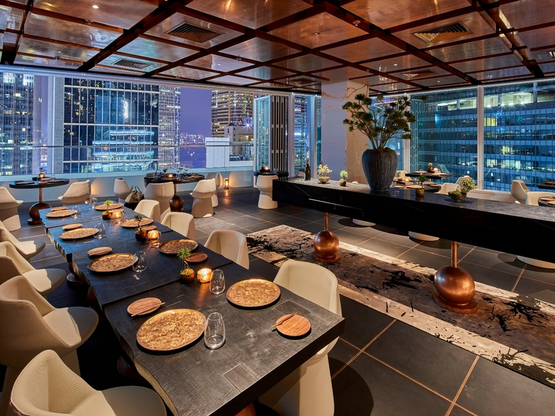 2-michelin stars restaurant perfect for corporate event space