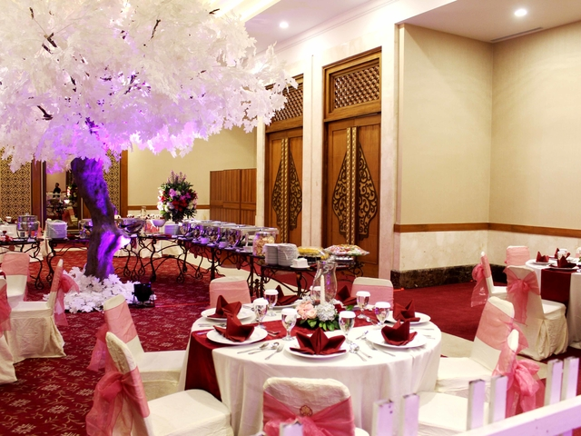 balai kartini mawar conference room wedding anniversary party space jakarta