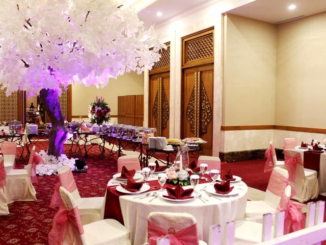 balai kartini mawar conference room wedding anniversary party space jakarta