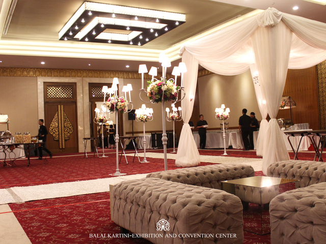 balai kartini mawar conference room wedding venue large jakarta