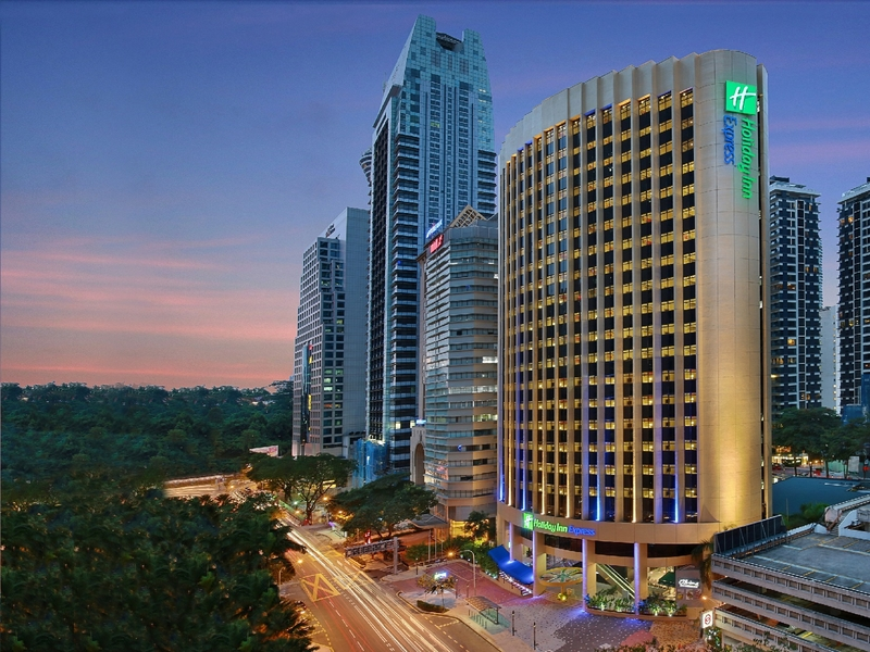 holiday inn express kuala lumpur building in the city centre