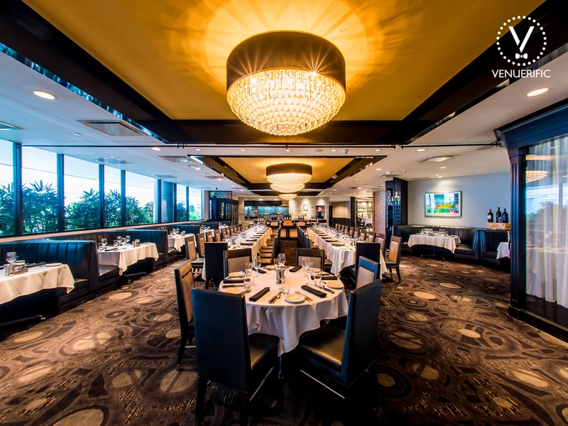 elegantly appointed Private Dining Rooms at Morton's The Steakhouse