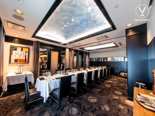 private dining room Morton steakhouse