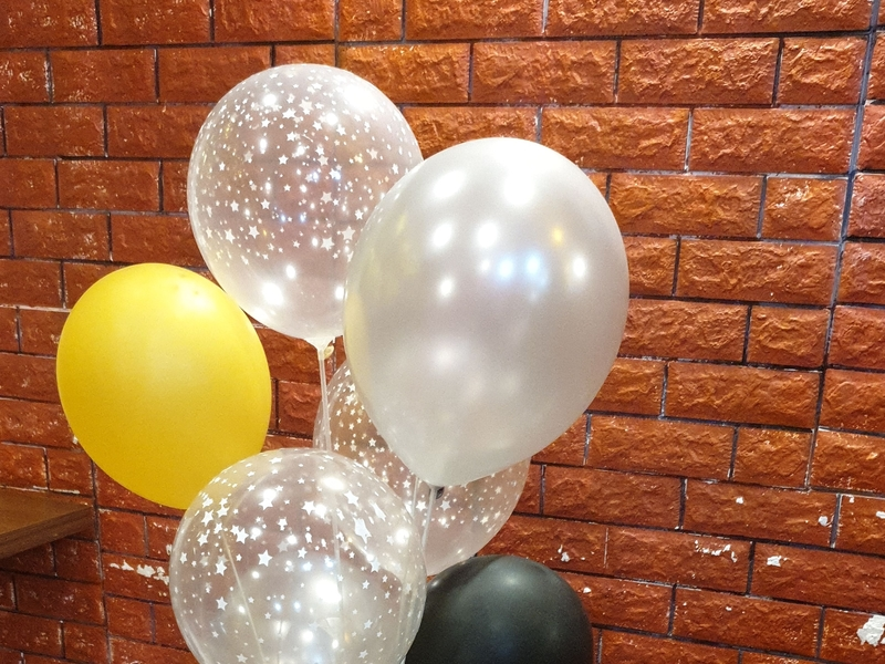 balloons for baby shower decoration