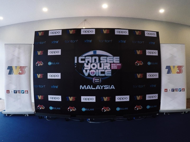 I can see your voice malaysia event photo booth