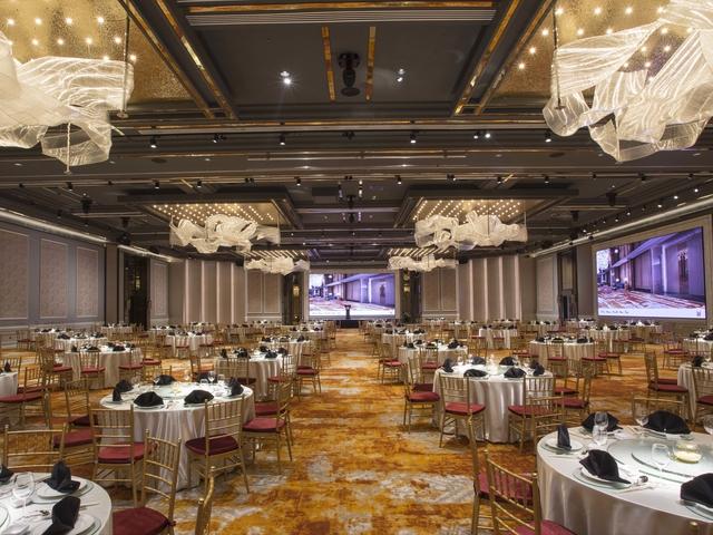 exclusive interior ballroom for wedding party