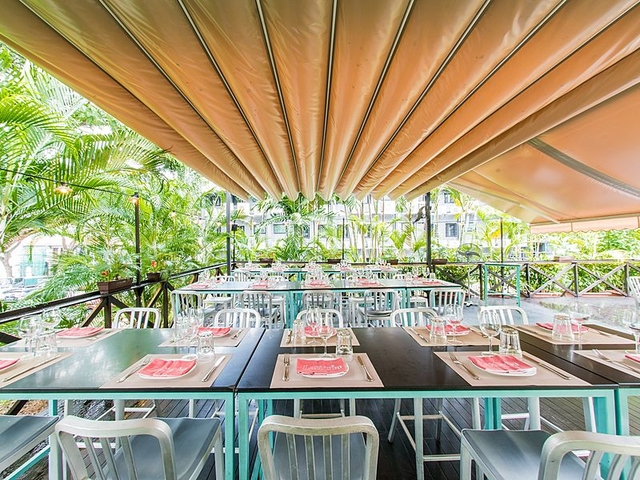 Latteria mozarella patio great outdoor dining restaurant for events singapore venuerific large medium