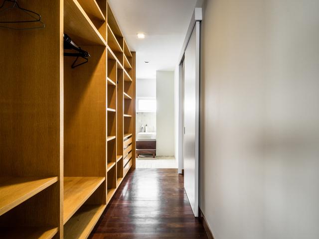 private villa with wood wardrobe