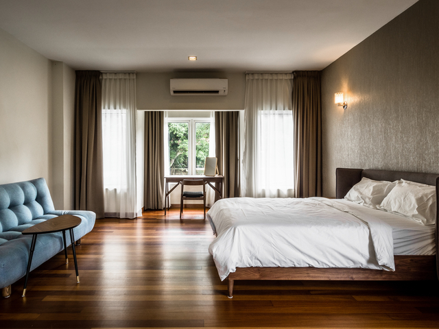 one of the bedroom by changkat duta luxury villa