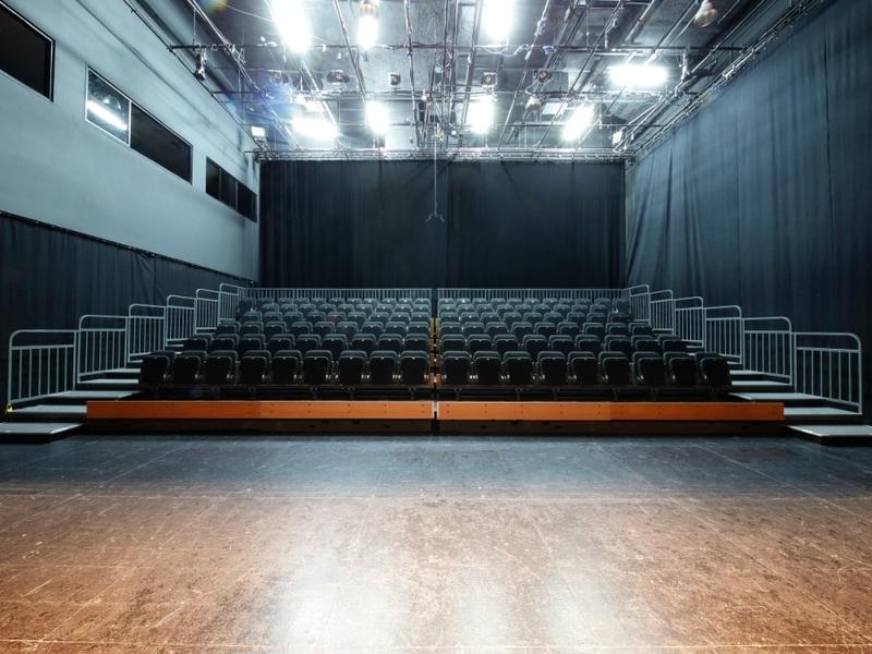 the 120 seater of drama centre black box