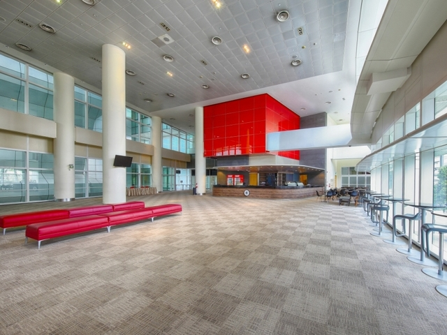 drama centre foyer bathed in natural light