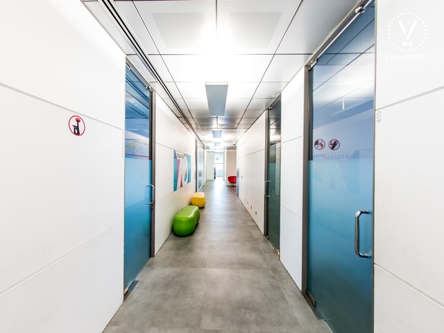 alley of the level 4 of the building