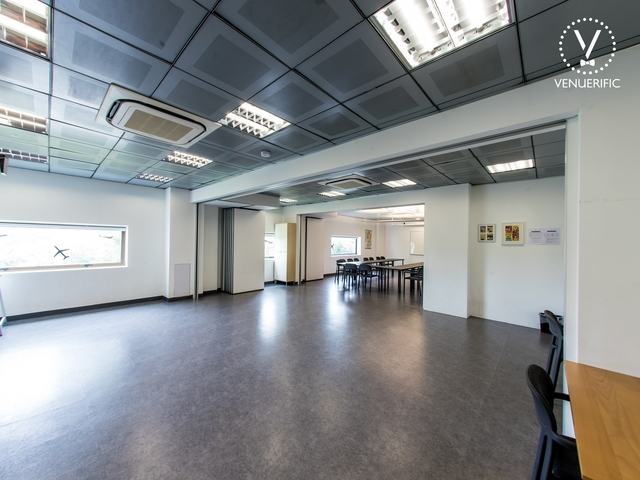 indoor event space for natural lighting