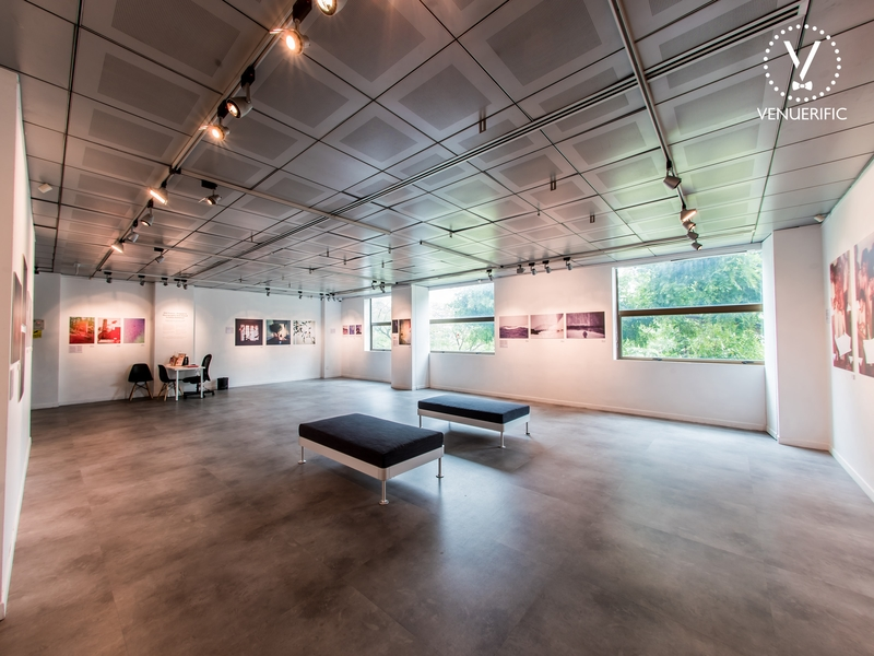 art gallery event venue for exhibition