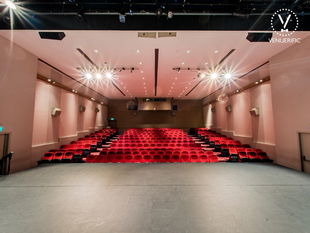 auditorium and theatre with stage suitable for live perfomances or seminars