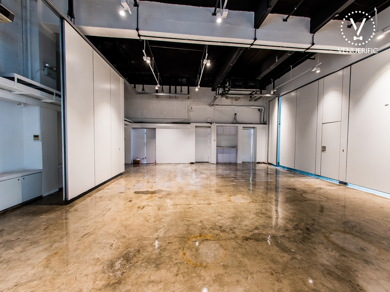 5,000 square-foot space for large event or small event
