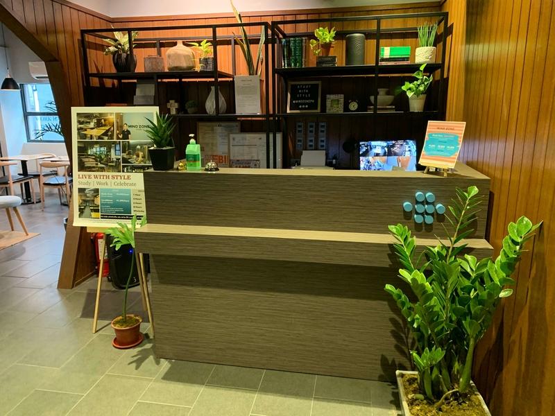 mindzone reception counter