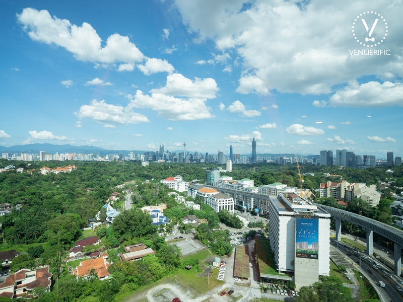 kl city view from common ground damansara heights