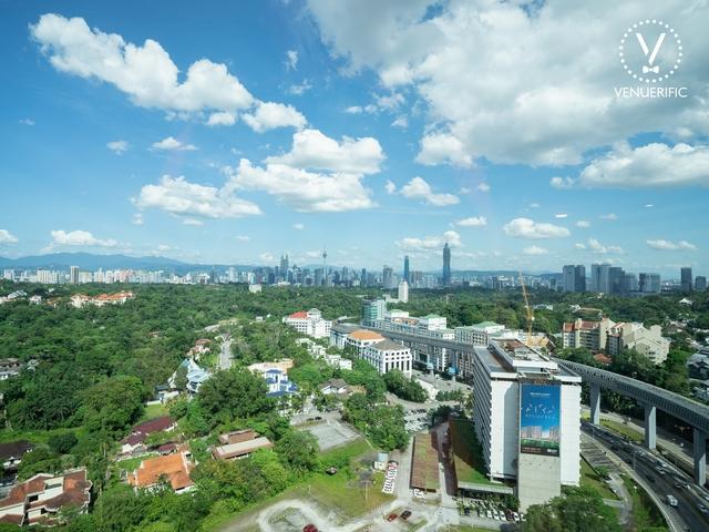 kl city view from common ground damansara heights
