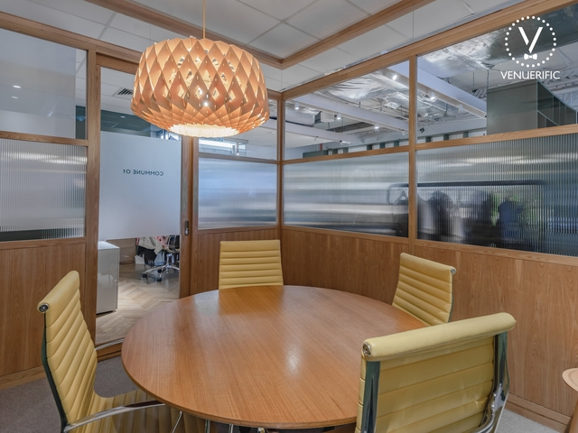 small private meeting room called commune