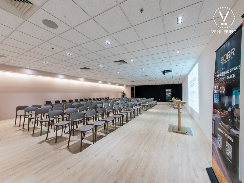 approximately 2000 sq ft of event space at singapore's first fintech hub