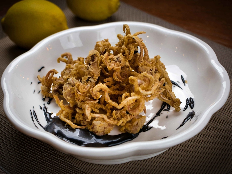 special calamari from old cocina del mar