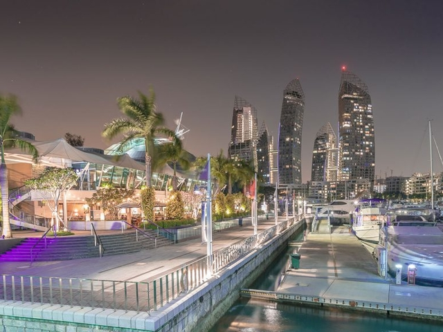 corporate event venue in singapore with sea view and outdoor area