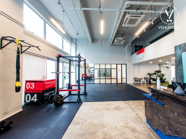 coworking space in singapore with gym facility