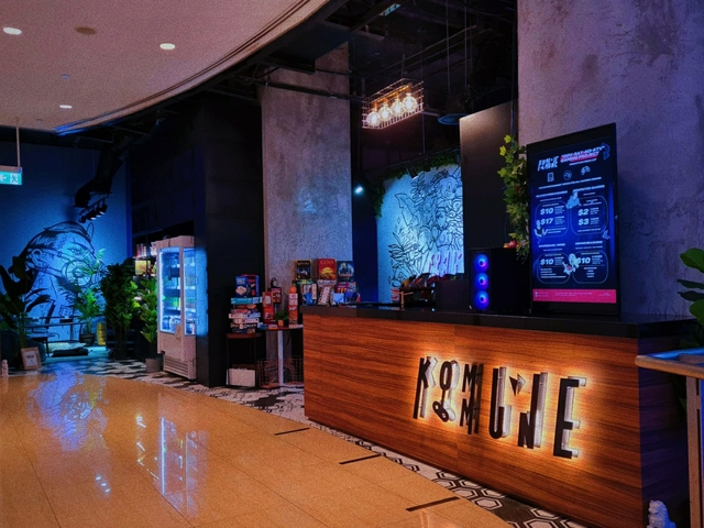 party space in orchard singapore with gaming facility
