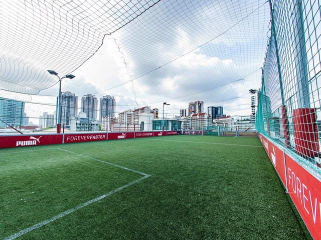 large court rent in singapore rooftop venue for sport event
