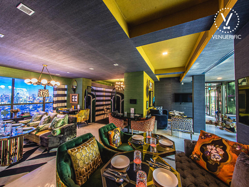 restaurant with living room vibe